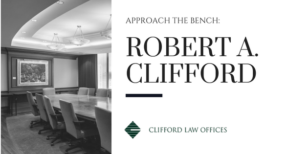 CLO Approach the bench Robert Clifford