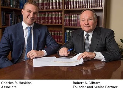 Clifford Law Offices Partner Charkes Haskins.jpg