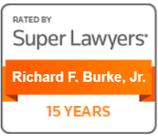 Super Lawyers Richard Burke 15 Years