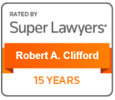 Super Lawyers Robert A Clifford 15 years